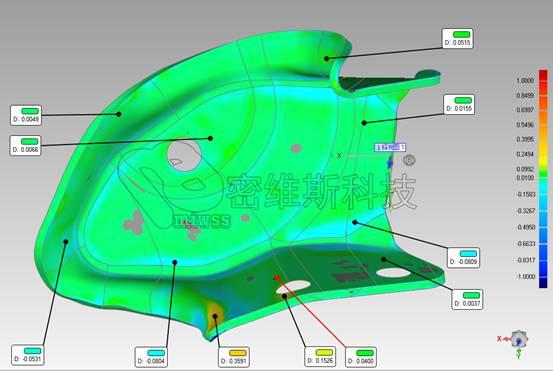 底盘骨架焊件检测