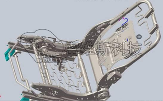 汽车座椅骨架