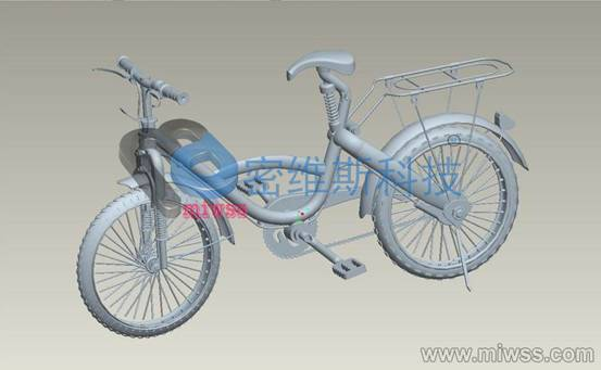 自行车整体扫描