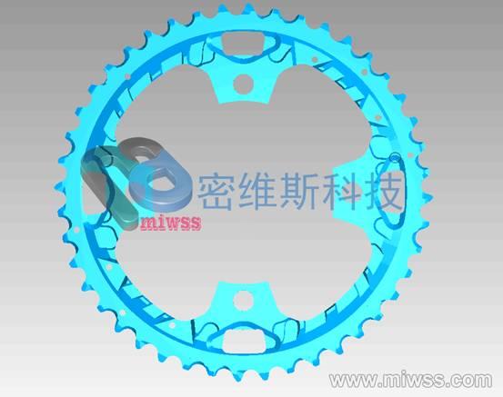 自行车链盘扫描2