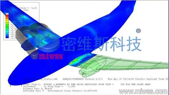 飞机模态分析